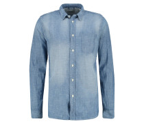 HENRY Hemd worn chambray