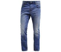 AEDAN Jeans Slim Fit light stone wash denim