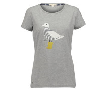 AVONMOUTH TShirt print light grey melange