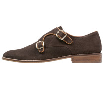 Slipper dark brown/tan