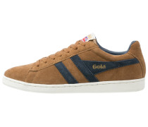EQUIPE Sneaker low tobacco/navy