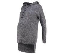 MLSLOWN - Strickpullover - medium grey melange