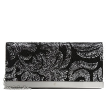 ALARZON Clutch black/silber