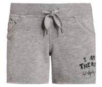 Shorts medium grey melange