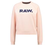 GStar XULA ART STRAIGHT R SW L/S Sweatshirt necta peach htr