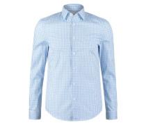 Hemd light blue/white