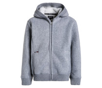 Fleecejacke heather grey