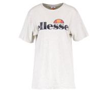 ALBANY - T-Shirt print - oatmeal marl