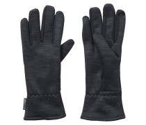 Fingerhandschuh black melange/craft chili/core heather