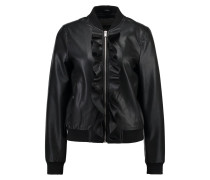 VMLAILA BUTTER - Kunstlederjacke - black beauty