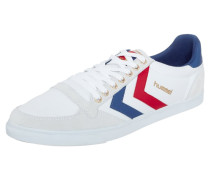 SLIMMER STADIL - Sneaker low - red/white