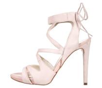 High Heel Sandaletten rose