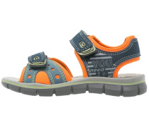 Trekkingsandale blu/arancio