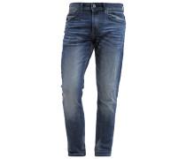 SUPER SLIM Jeans Slim Fit mid stone wash denim