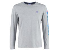 Langarmshirt mottled grey