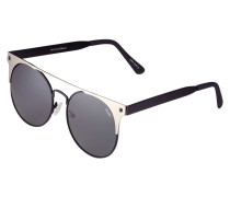 THE IN CROWD - Sonnenbrille - black silver/smoke lens