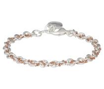 SPIKE SMALL Armband plain silver/rosé
