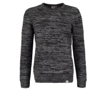 ACCENT Strickpullover black/dark grey heather