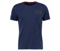 INTERNATIONAL - T-Shirt print - navy