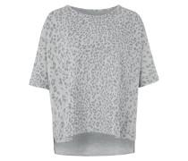 LEO CAPE - Sweatshirt - light grey melange