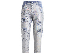 ARIEL - Jeans Relaxed Fit - middenim
