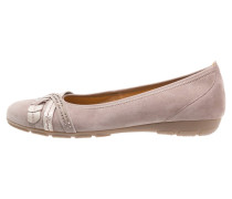 Klassische Ballerina darknude/rose/sand