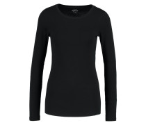 PERFECT FIT - Langarmshirt - black