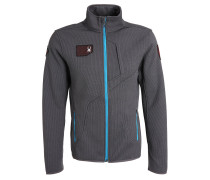 WENGEN Fleecejacke grey