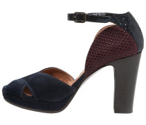 BESITO Peeptoe nuit /grape/navy