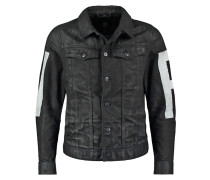 GStar 3301 3D SLIM JKT PAINTED IP Jeansjacke hoist black denim
