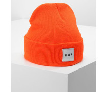 BOX LOGO - Mütze - safety orange