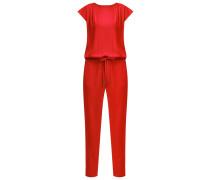 KLARA Jumpsuit cranberry red