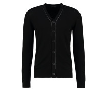 Strickjacke black