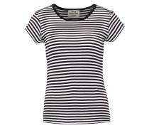 TRAPPY - T-Shirt print - black/white
