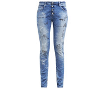 PILAR Jeans Relaxed Fit tattoo denim