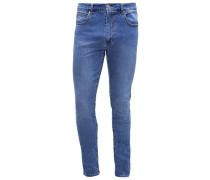 LEON Jeans Slim Fit mid blue wash