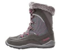 CRYSTAL TEX - Snowboot / Winterstiefel - anthra/pink