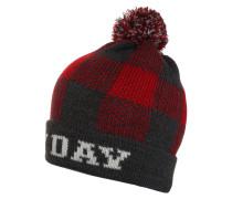 Mütze modern red