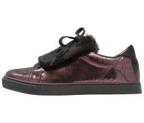 Sneaker low burgundy
