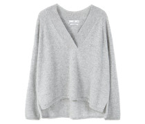 Strickpullover - light heather grey