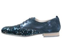 WEDILY Schnürer blu/argento