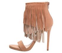 RIVAMONTE High Heel Sandaletten light brown