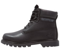 COLORADO Schnürstiefelette all black