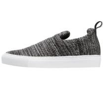 FARMER - Slipper - black/grey melange