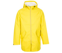 RUBBER FISHTAIL Parka bitter lemon