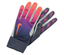 Fingerhandschuh obsidian/vivid purple