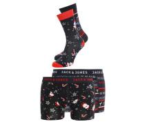 JACCHRISTMAS SET Panties navy blazer santa/reindeer
