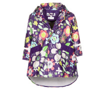 FLORA Regenjacke / wasserabweisende Jacke violett