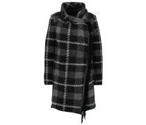 Wollmantel / klassischer Mantel grey/black