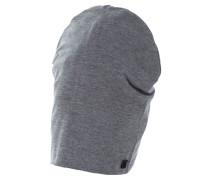 Mütze silver grey melange